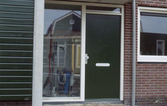 Normale deur vervangt wisseldeur