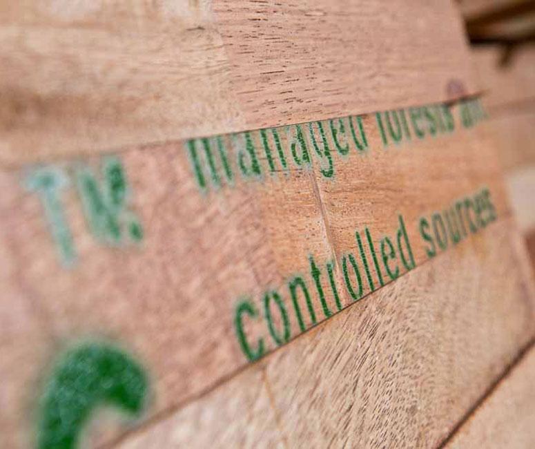 Certificering voor verantwoord bosbeheer