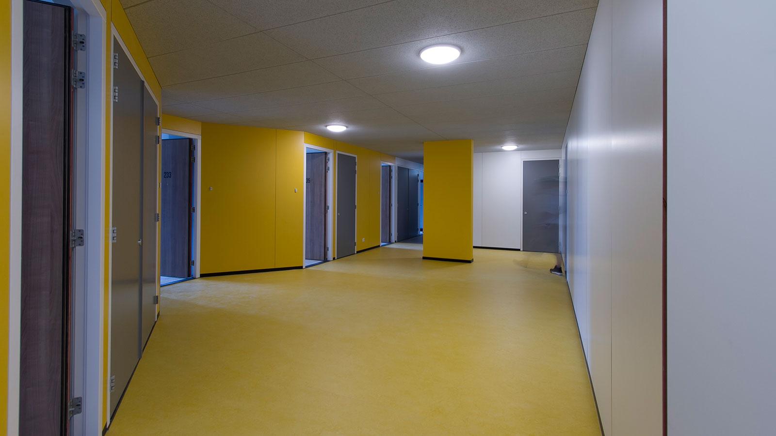 Studentendeur in wooncomplex