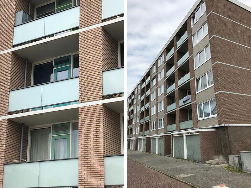 Groot onderhoud Kooimeerflats Alkmaar