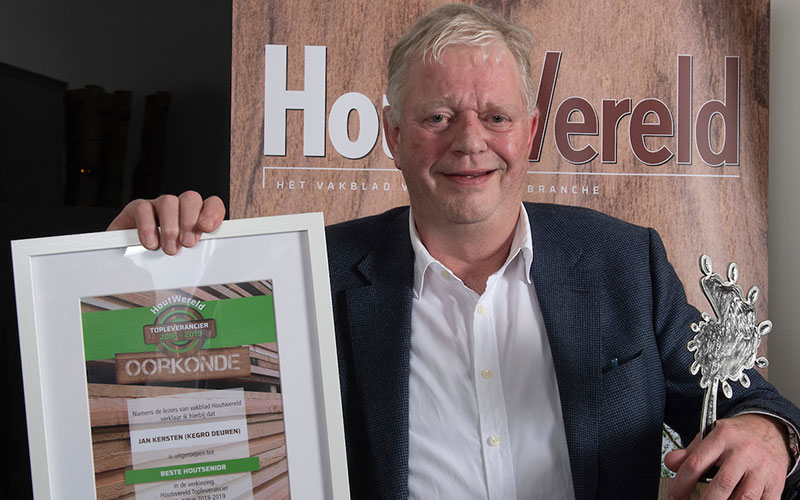 Beste Houtsenior 2018-2019 Jan Kersten