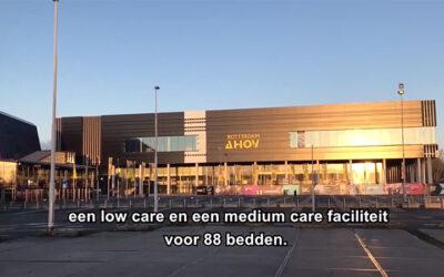 Noodhospitaal Ahoy Rotterdam
